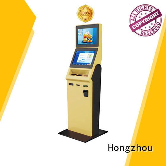Hongzhou hotel check in kiosk with card reader in hotel