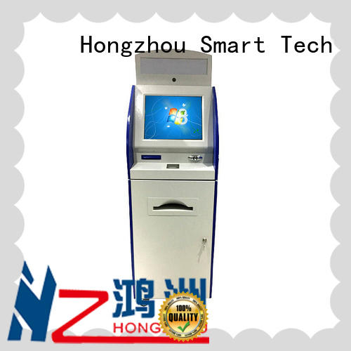 Hongzhou government library information kiosk visa in airport
