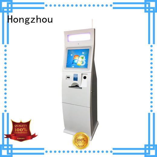 Hongzhou mounted kiosk payment terminal service in hotel