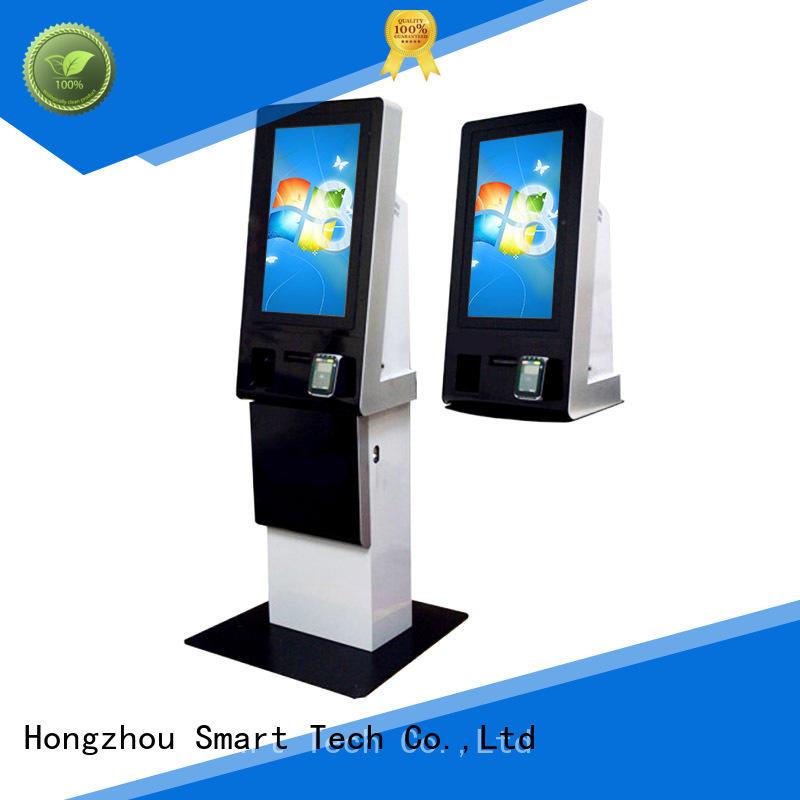 Hongzhou dual screen kiosk payment terminal keyboard in hotel