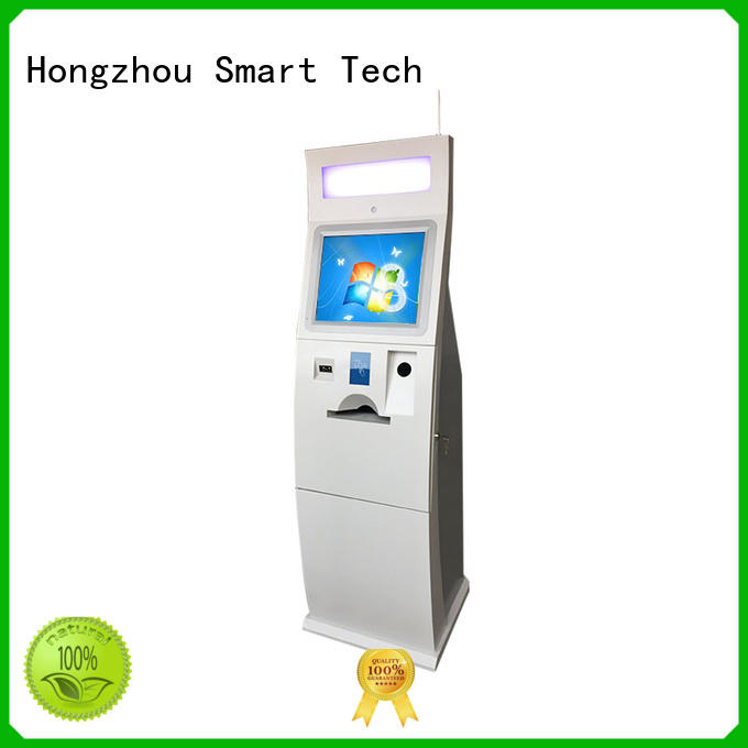 high quality bill payment kiosk with laser printer in hotel