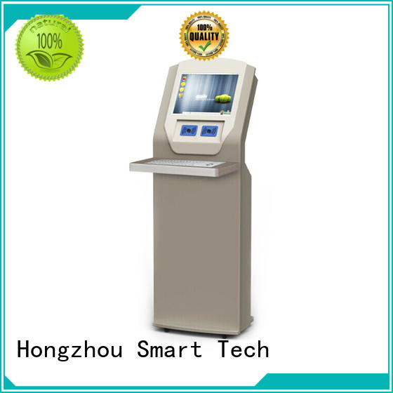 Hongzhou professional library self checkout systems with id card reader in library