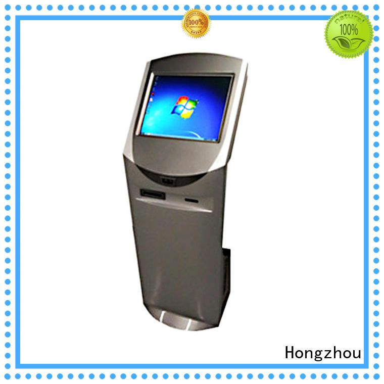 visa interactive information kiosk led airport Hongzhou