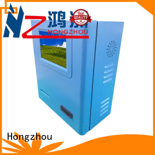 hd automated payment kiosk supplier in bank