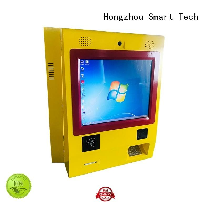 cash self service payment kiosk manufacturer convenient in bank Hongzhou