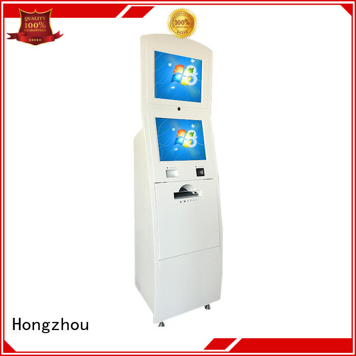 Hongzhou touch airport information kiosk appearance in airport