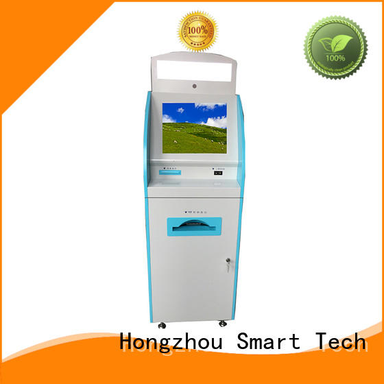 Hongzhou touch screen medical check in kiosk for sale