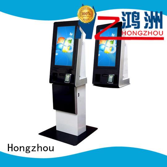 Hongzhou windows system payment machine kiosk machine in bank