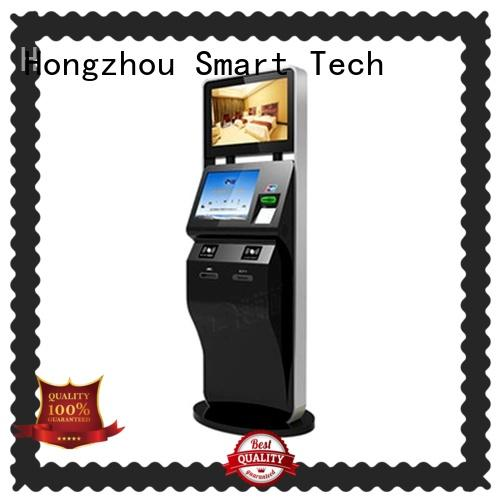 led ticket kiosk machine with camera for sale