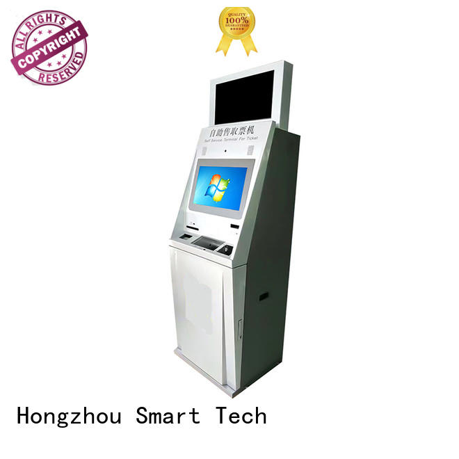 latest self service ticketing kiosk with camera for sale