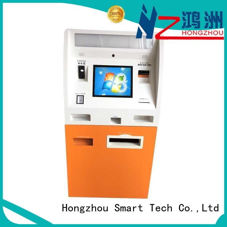 Hongzhou wholesale automated payment kiosk coated in bank