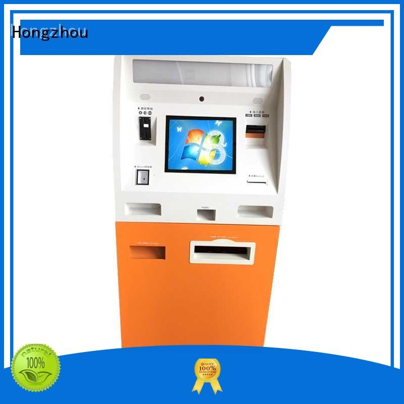 Hongzhou pay kiosk dispenser in hotel