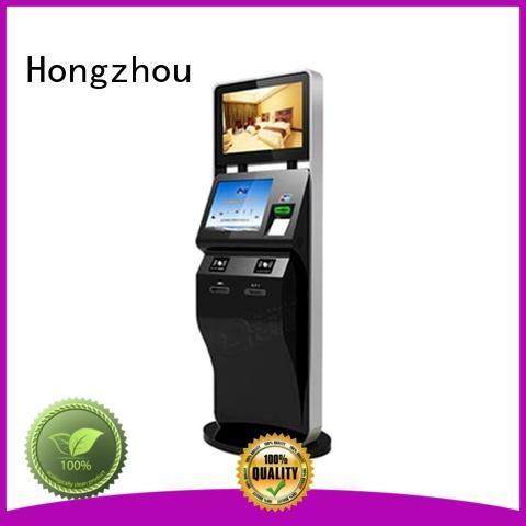 new self service ticketing kiosk with printer in cinema