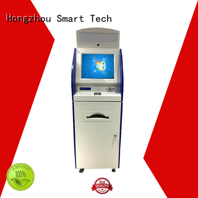 Hongzhou top information kiosk machine supplier in airport