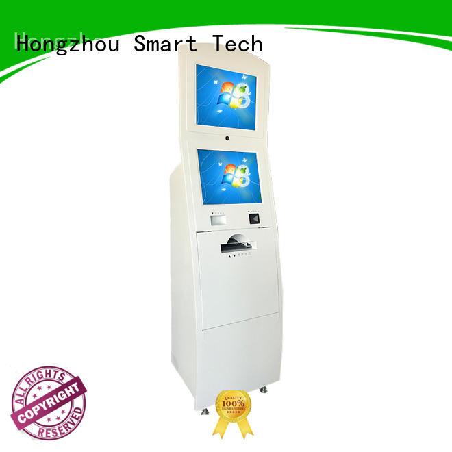 Hongzhou latest information kiosk machine receipt in bar