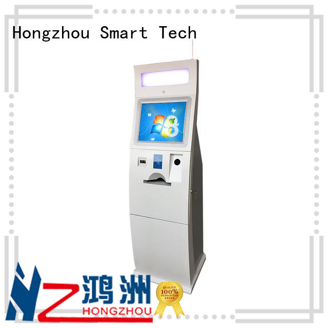 Hongzhou blue kiosk bill payment machine for sale
