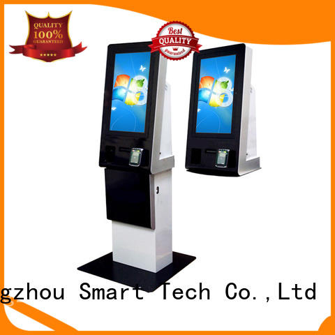 Hongzhou screen self service payment kiosk manufacturer machine in bank