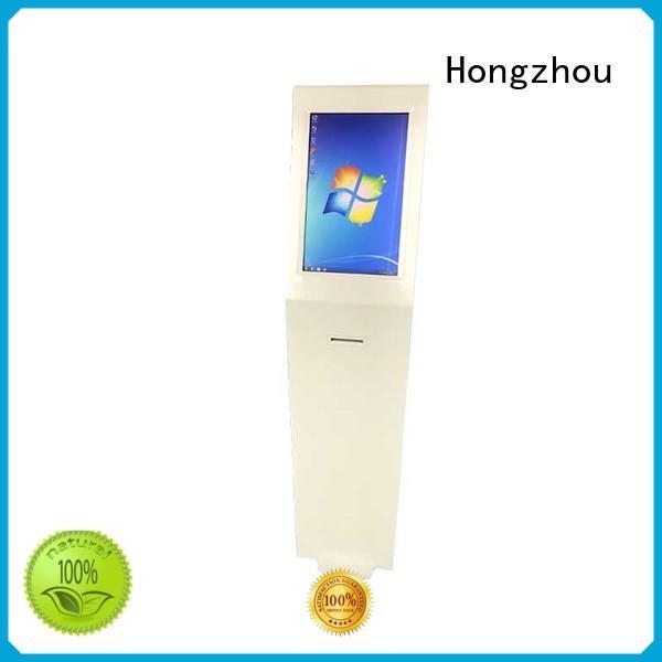 Hongzhou kiosk portable information kiosk code airport