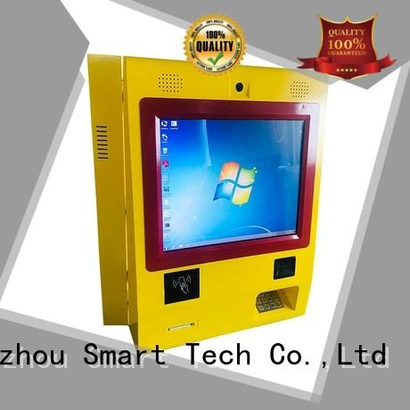 Hongzhou mounted bill payment machine kiosk in bank