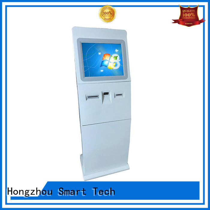 Hongzhou new information kiosk with printer in airport