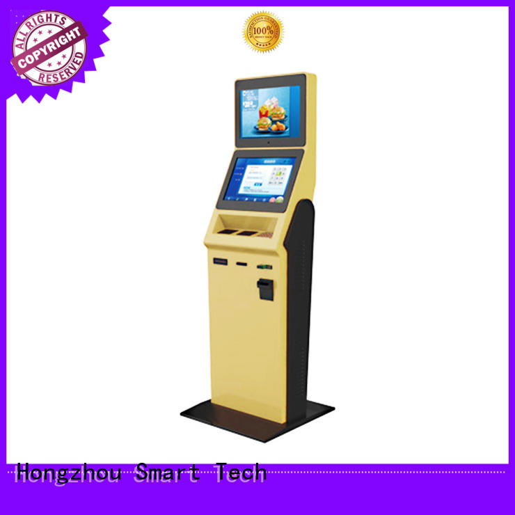 Hongzhou new hotel check in kiosk company for sale