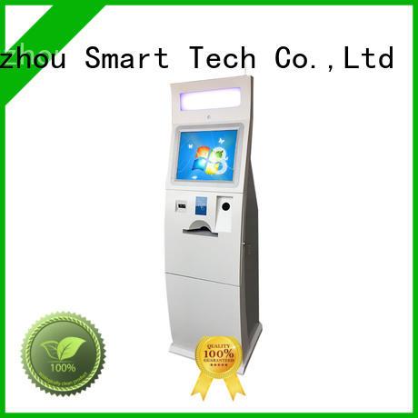 Hongzhou best pay kiosk coated in bank