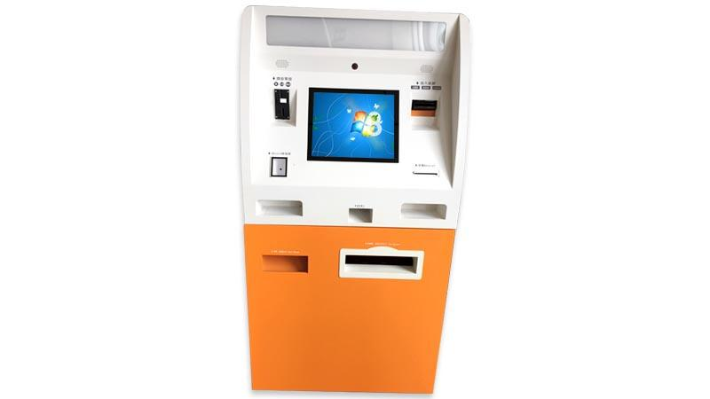 Hongzhou wall mounted cash payment kiosk in hotel-1
