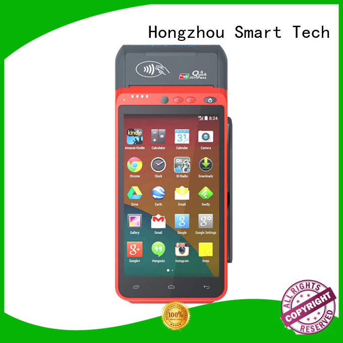 Hongzhou mobile pos with card reader in library