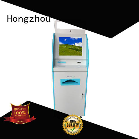 Hongzhou patient self check in kiosk key in hospital