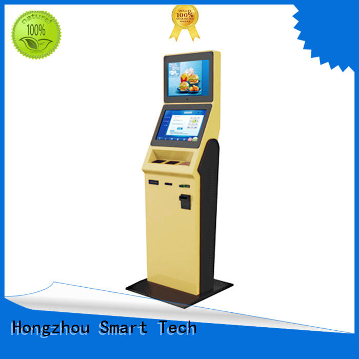 Hongzhou high end hotel self check in kiosk for busniess in villa