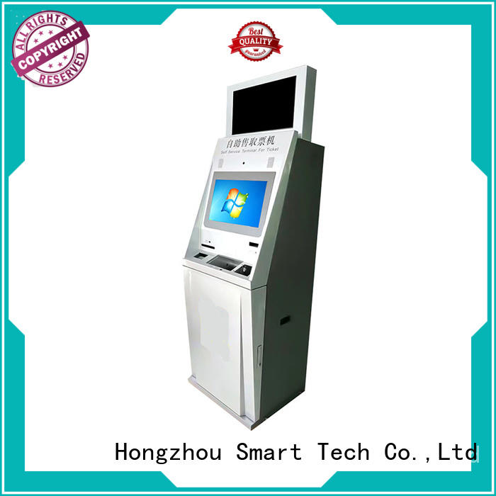 touch screen ticket kiosk machine with wifi for sale