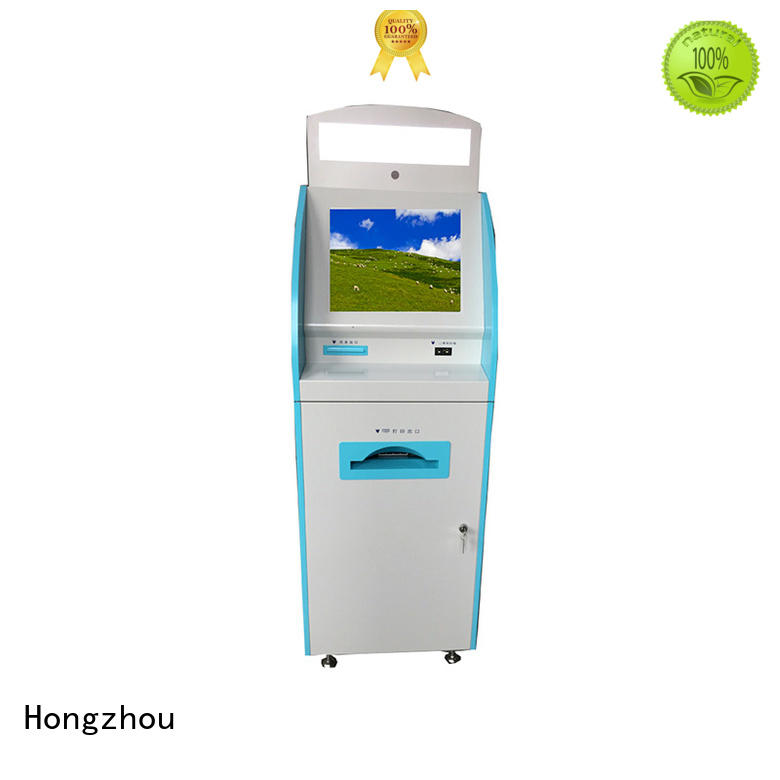 Hongzhou new patient check in kiosk operated for patient