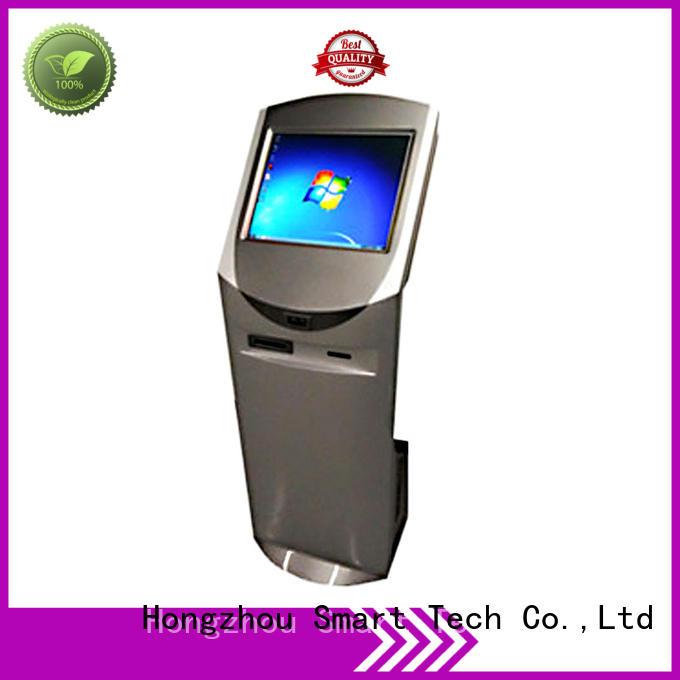 latest touch screen information kiosk factory in bar