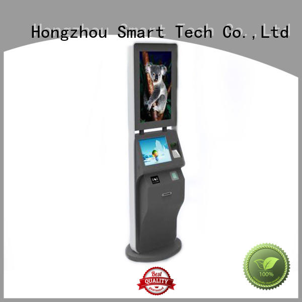 Multi function 21 inch LED touch screen ticket kiosk in cinema