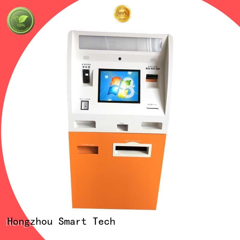 Hongzhou top automated payment kiosk machine for sale