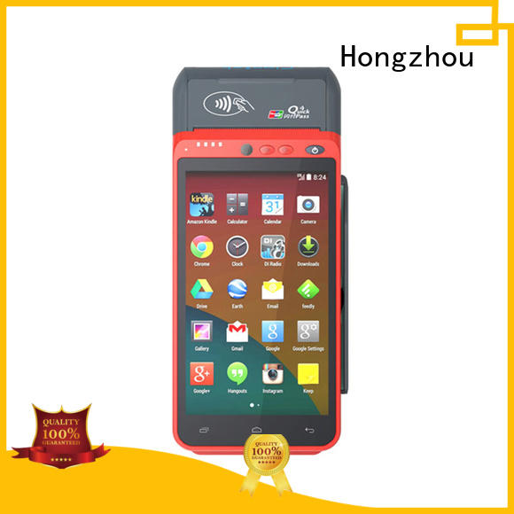 Hongzhou mobile pos with printer in hospital