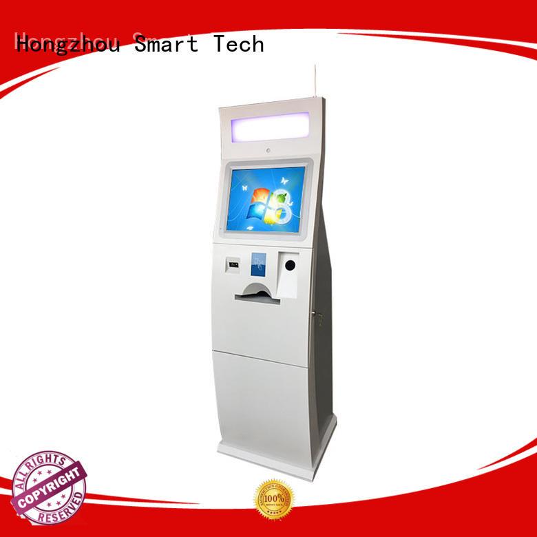 Hongzhou wall mounted payment kiosk factory in bank
