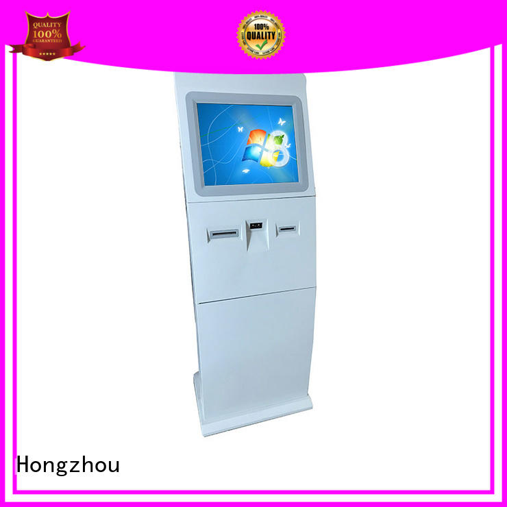 Hongzhou government interactive information kiosk with camera for sale