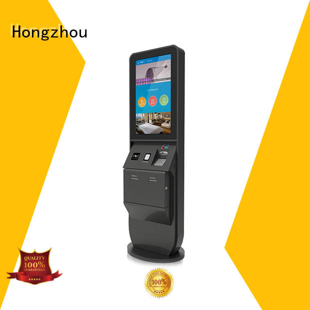 hotel check in kiosk with printer for sale Hongzhou