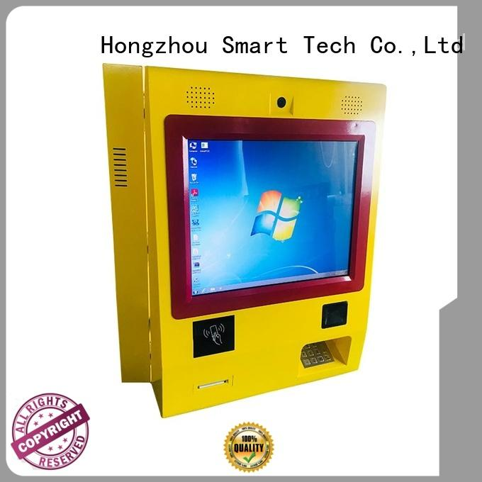 card kiosk payment terminal machine in bank