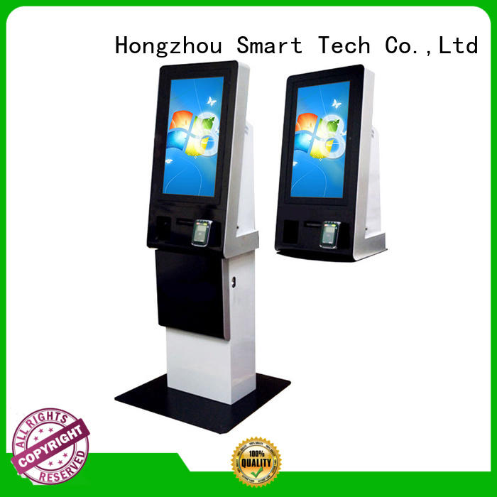 Hongzhou automated payment kiosk coated in bank