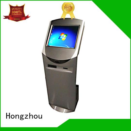 led touch screen information kiosk kiosk bar Hongzhou