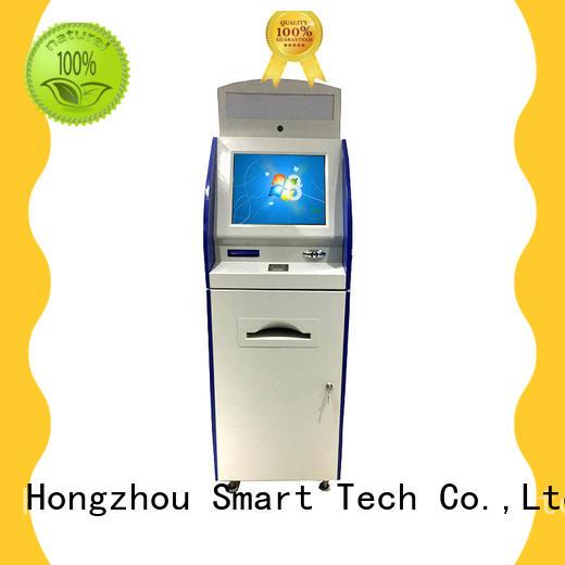 Hongzhou digital information kiosk receipt in airport