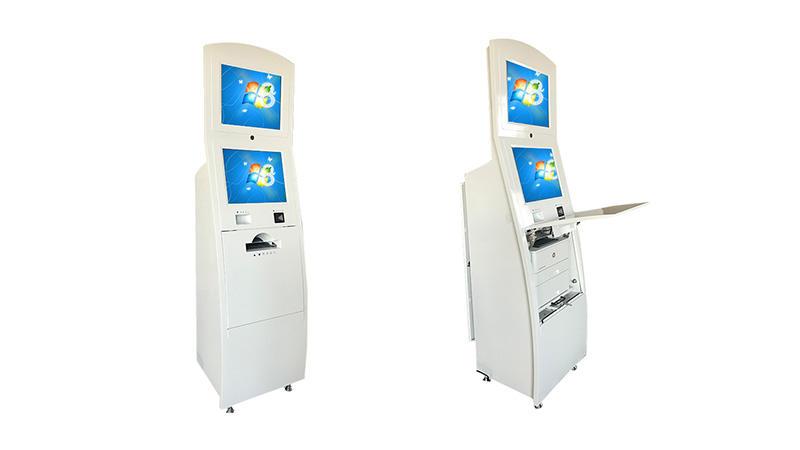 Hongzhou interactive information kiosk with printer in bar-2