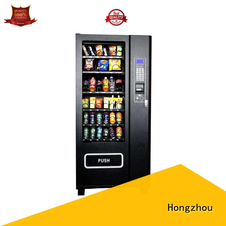 Hongzhou convenient vending equipment multiple payment for shopping mall