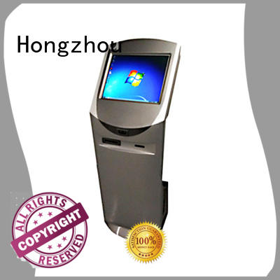 latest information kiosk with printer in bar