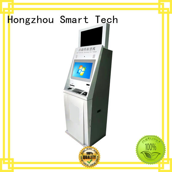 touch movie ticket kiosk with printer in cinema Hongzhou