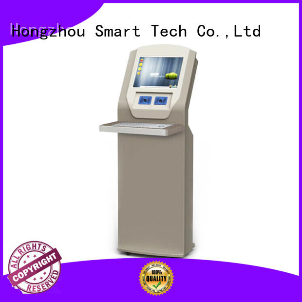 top selling library self checkout kiosk with logo for sale