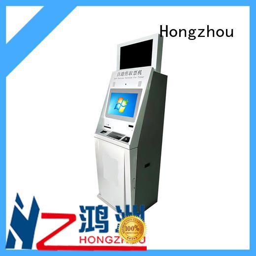Hongzhou professional ticketing kiosk with wifi for sale