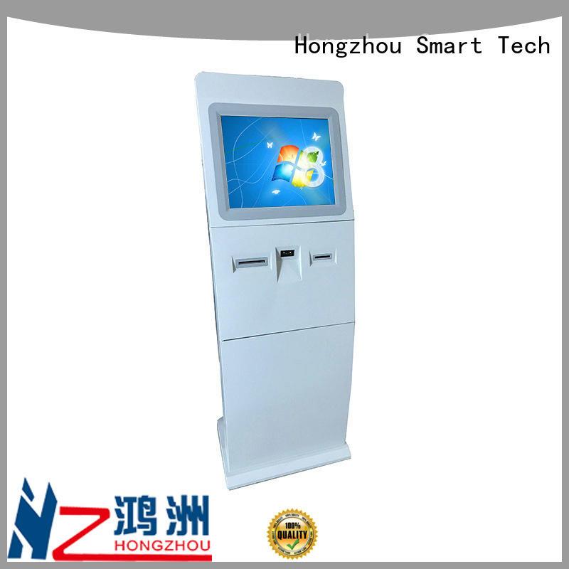 Hongzhou floor standing digital information kiosk receipt for sale